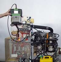Application of a tester for engine control units (ECUs)
